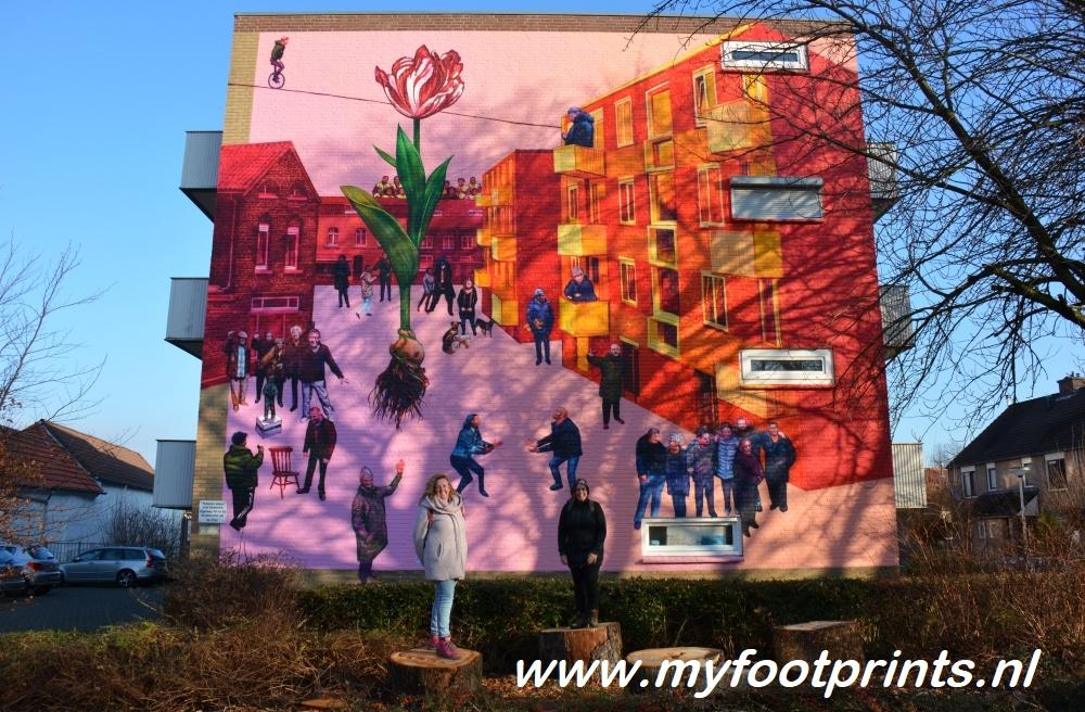 foto van de maand Streetart in Heerlen