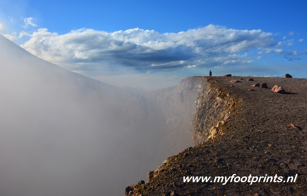 foto van de maand hike Telica vulkaan Nicaragua