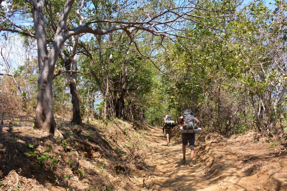 hike op de Telica vulkaan Nicaragua