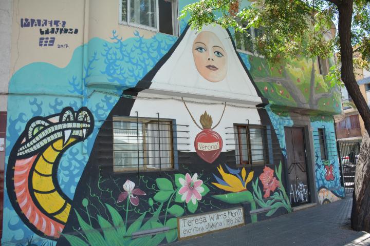 Street Art Santiago Chili