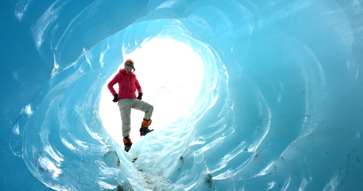 Exploradores gletsjer Chili