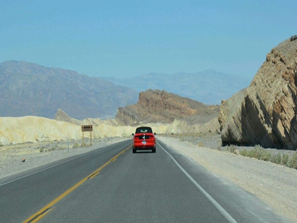 roadtrip west Amerika  Death Valley