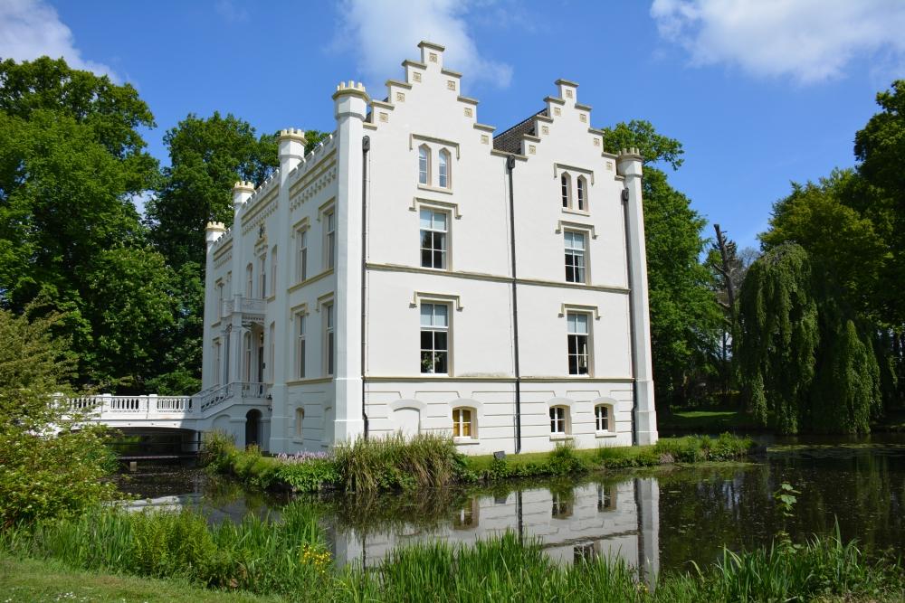 Fietsen Utrechtse heuvelrug kasteel Scherpenzeel