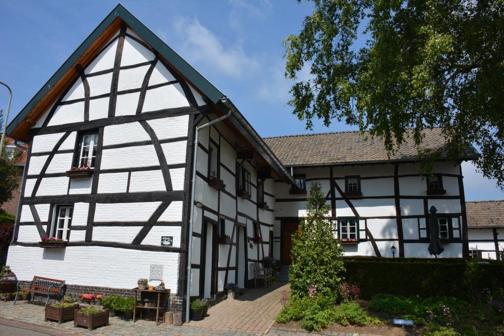 Vakwerkhuizen in Schweiberg Limburg