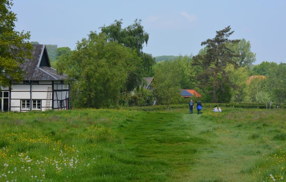 Wandelroute Epen richting het Geuldal