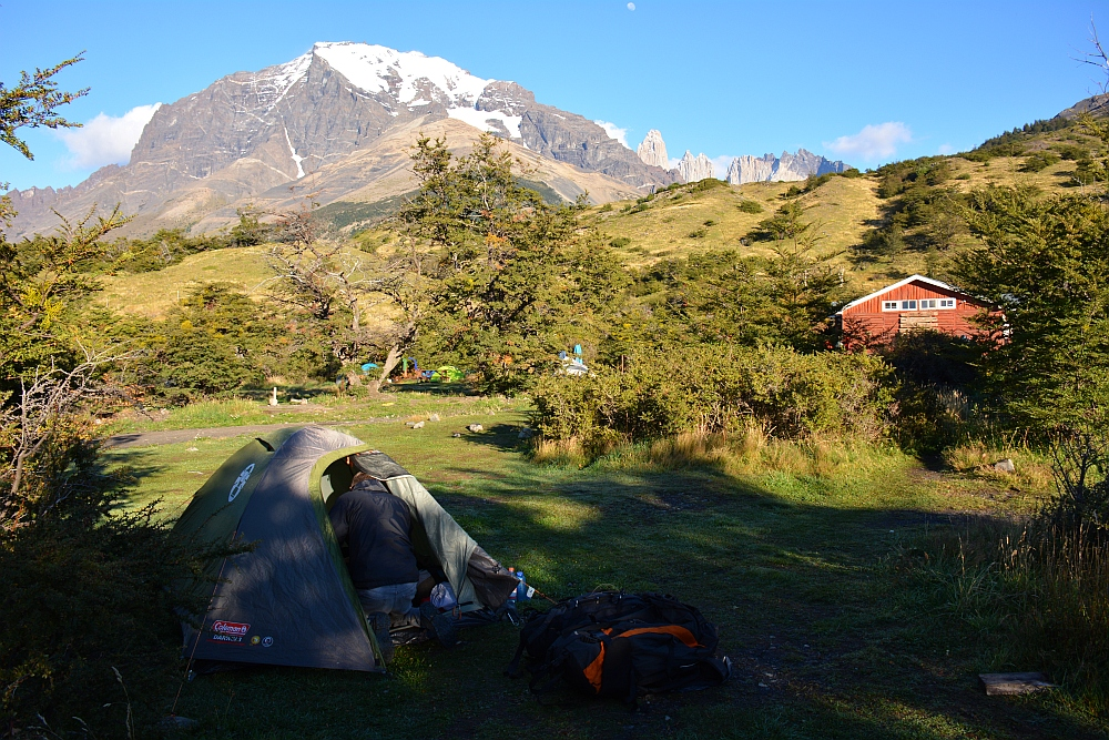 camping Central Torres del Paine