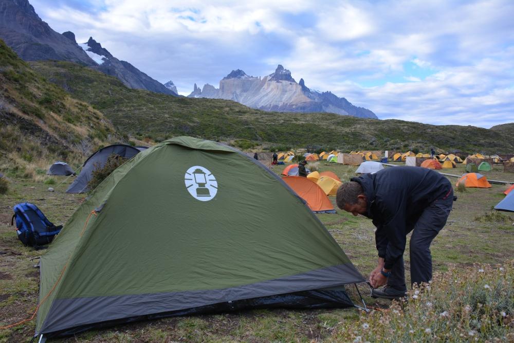 camping Paine Grande Torres del Paine