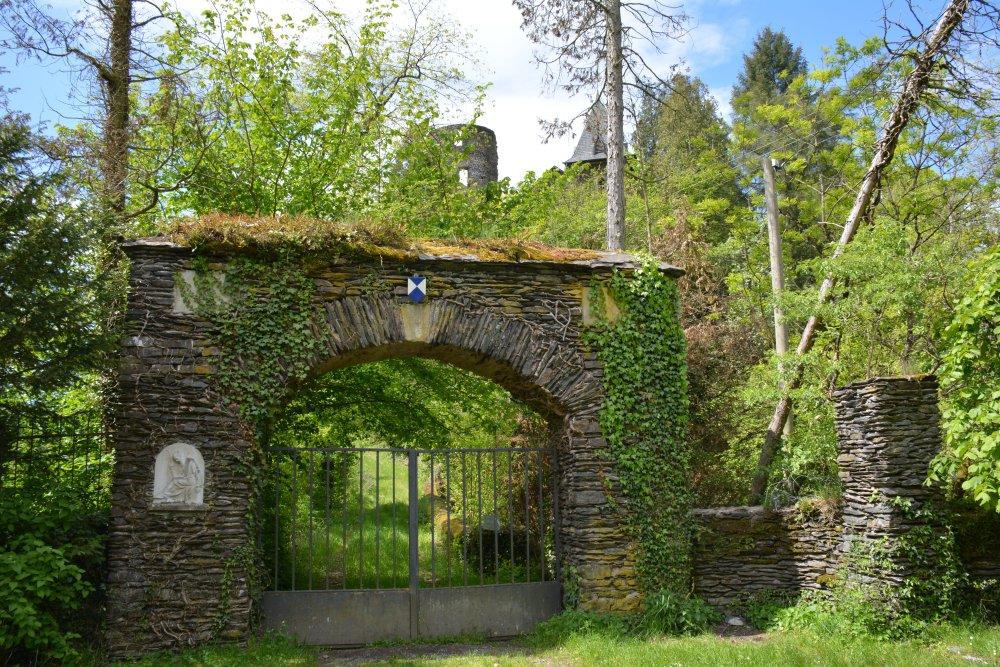 wandelen Eifel kasteel Falkenstein