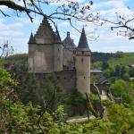 wandelen Eifel kasteel Vianden