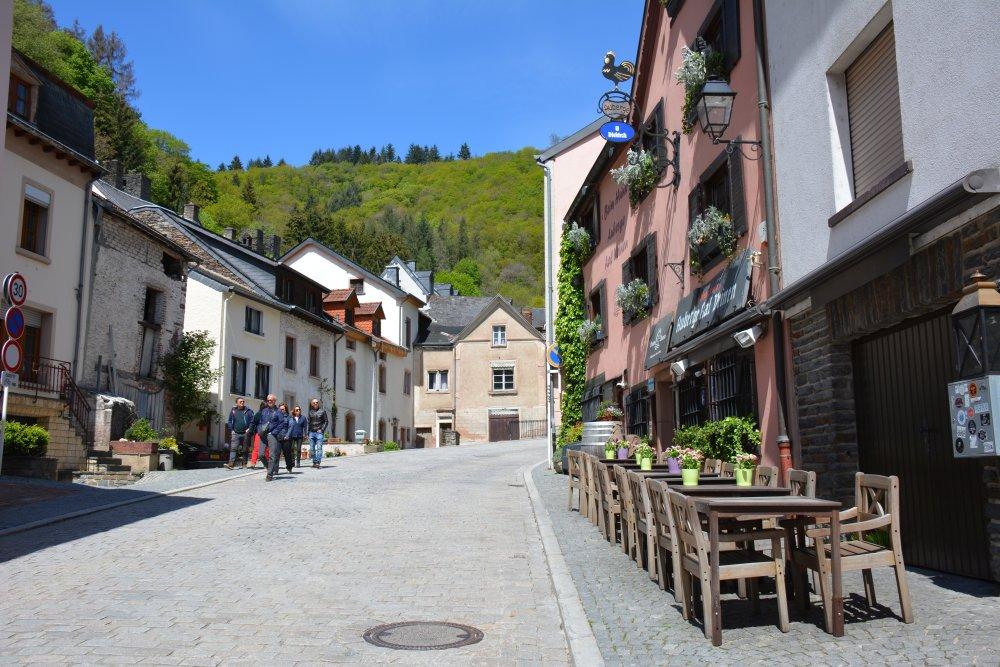 startpunt route NaturWanderPark delux vanuit Vianden