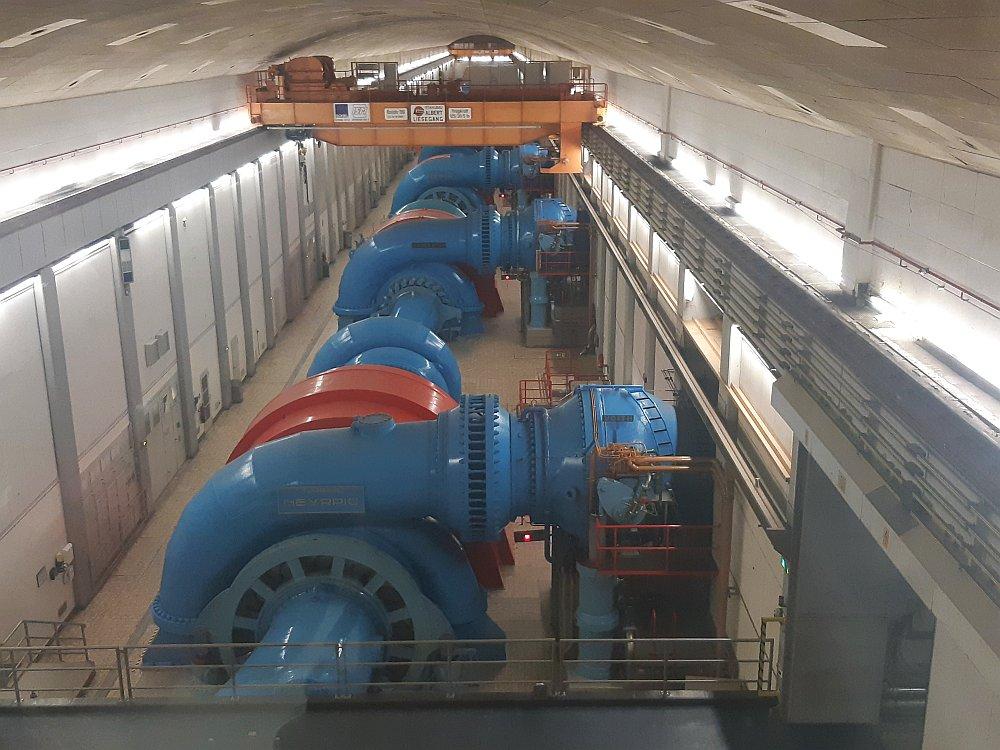 waterkrachtcentrale bij Vianden