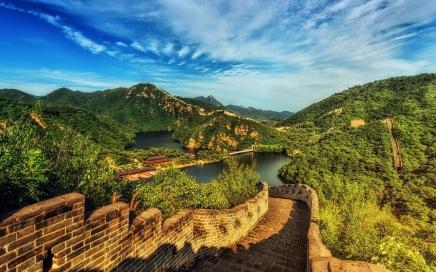 visum voor China aanvragen, de Chinese muur