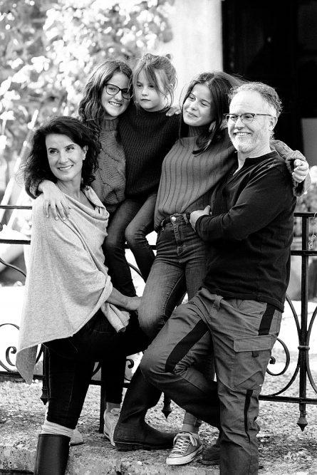 De familie van Sandra in Beieren emigreren naar Duitsland