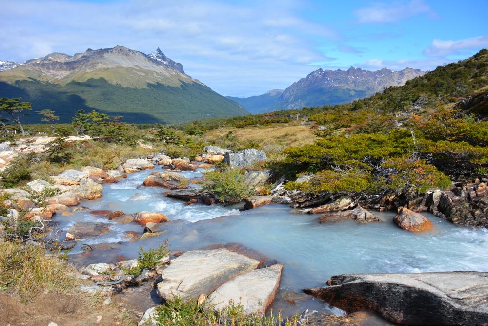 Laguna Esmeralda hike Vuurland