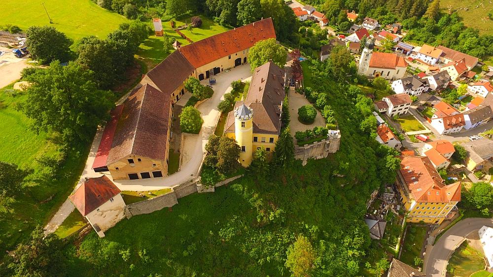 Schloss Móhren in Beieren