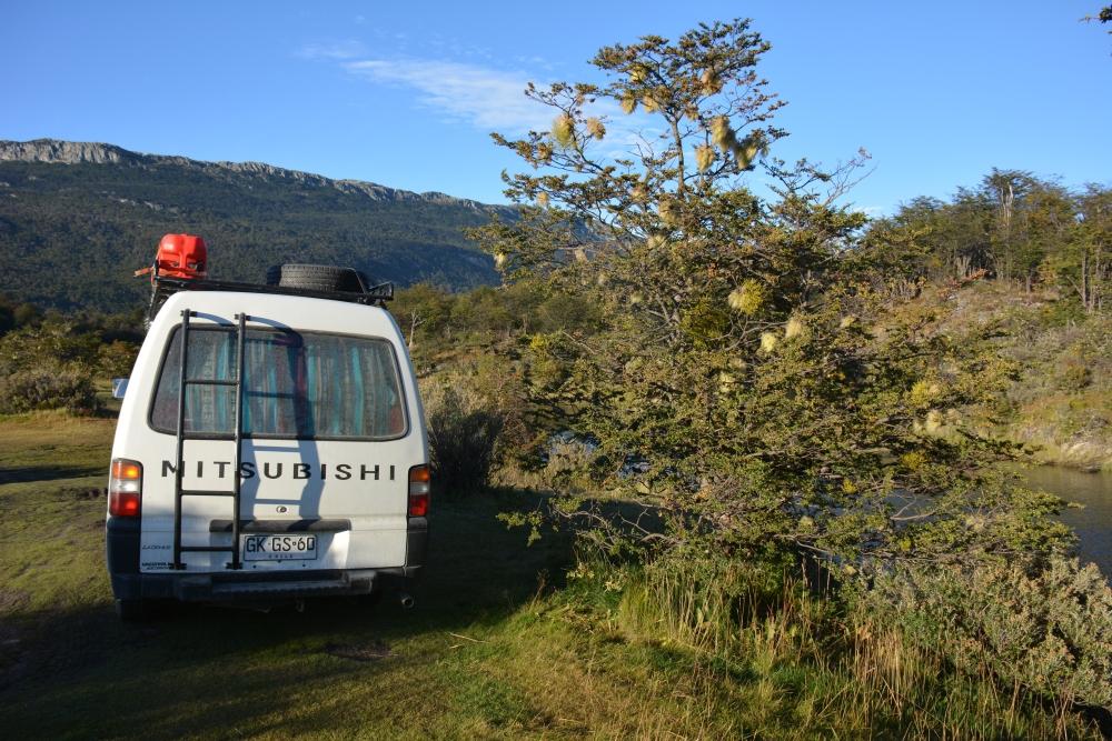 campsite Tierra del Fuego National Park