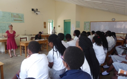 lesgeven middelbare school Rwanda