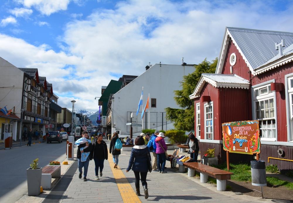 straatbeeld Ushuaia