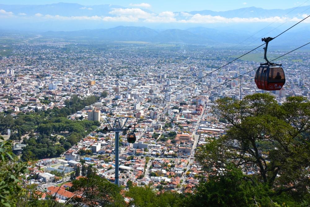Mirador Cerro San Bernardo Salta Argentinië