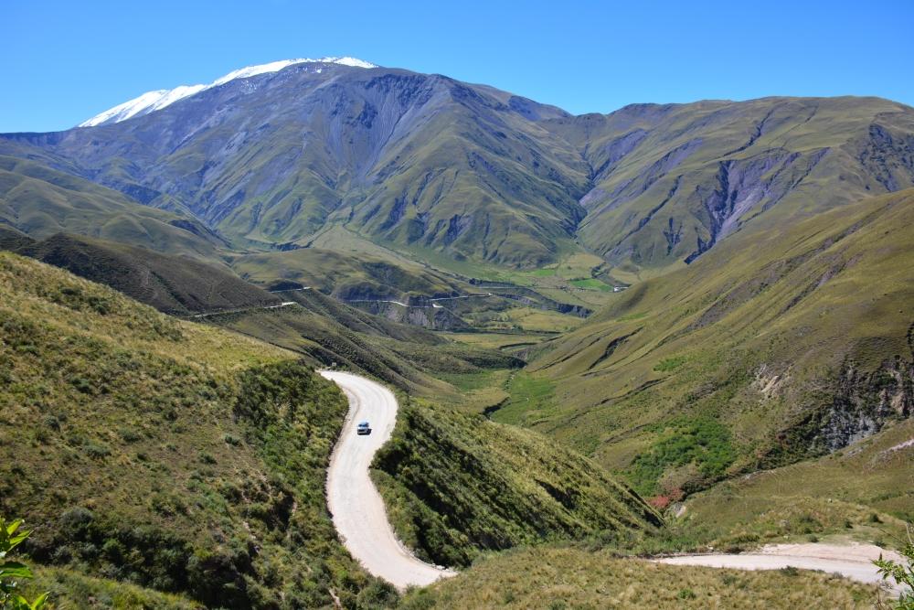 Ruta 33 van Salta naar Cachi in Argentinië