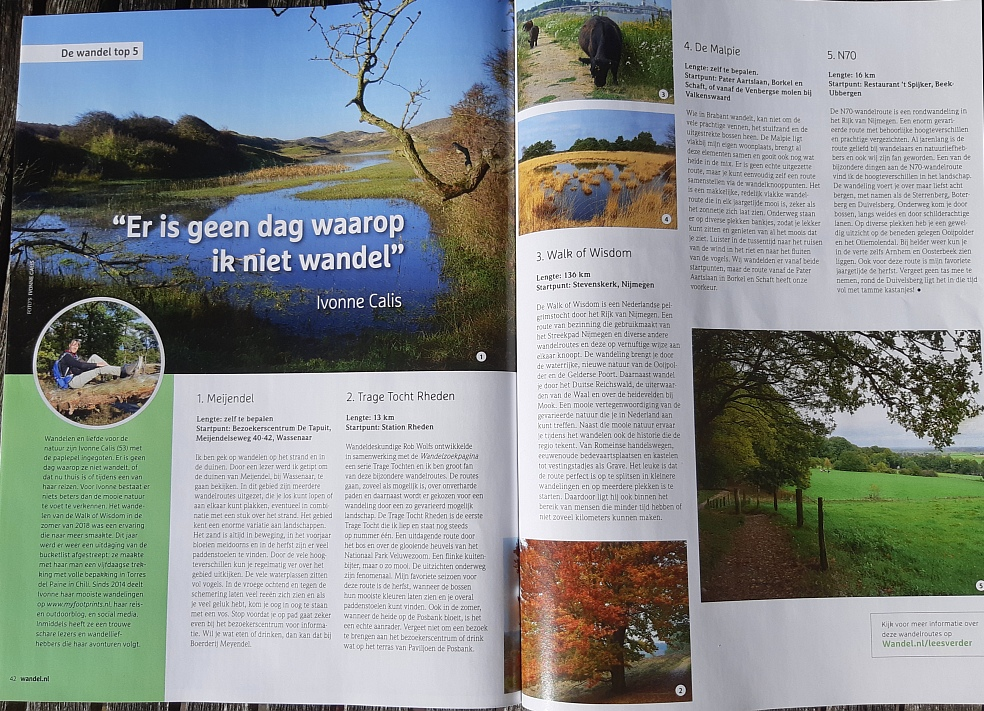 top 5 Myfootprints in wandel.nl magazine