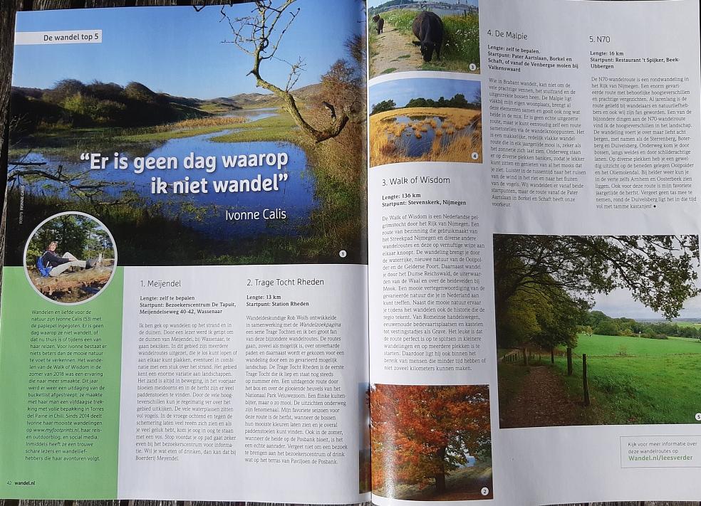 top 5 Myfootprints in wandel.nl magazine