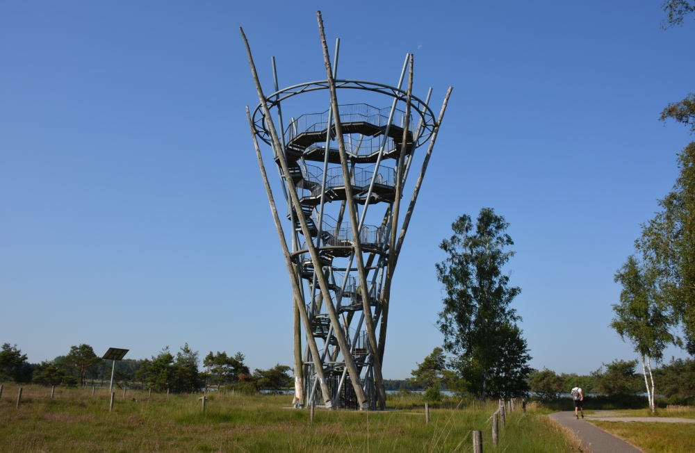 uitkijktoren De Flaes landgoed de Utrecht