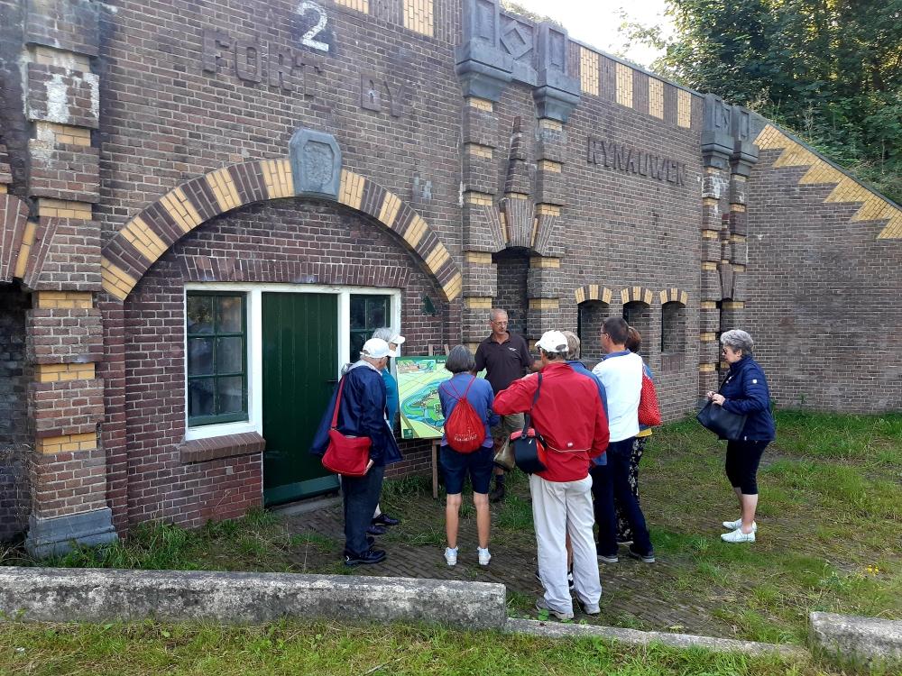 Fort bij Rijnauwen, nieuwe Hollandse Waterlinie