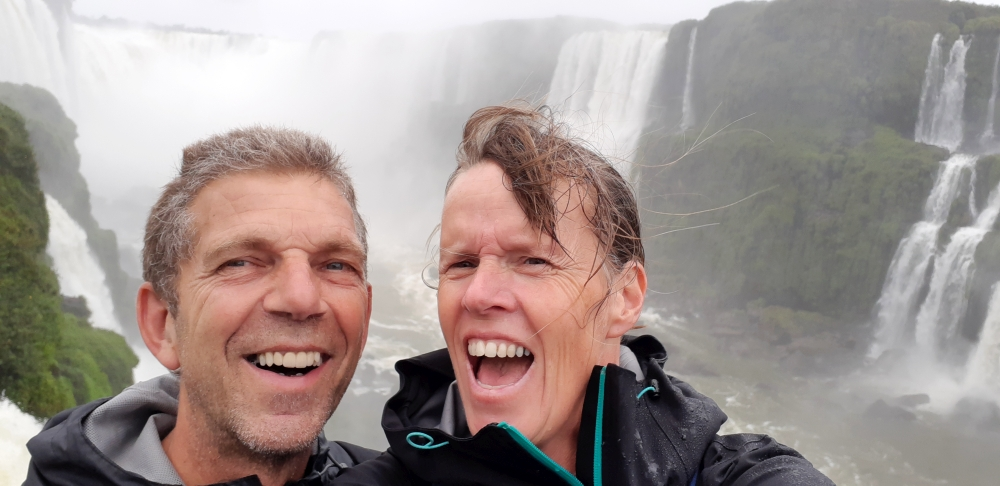 Iguazu watervallen Gargente del Diablo