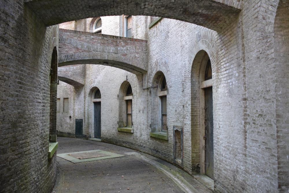 Interieur Fort Honswijk