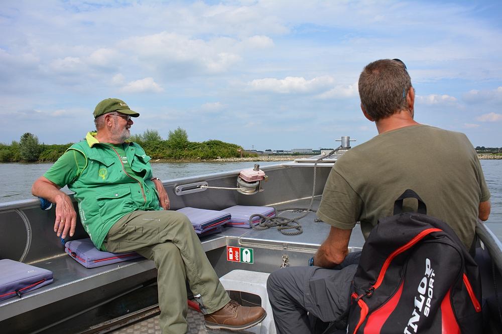 Naar natuureiland Sophiapolder met bootje Zuid Hollands landschap