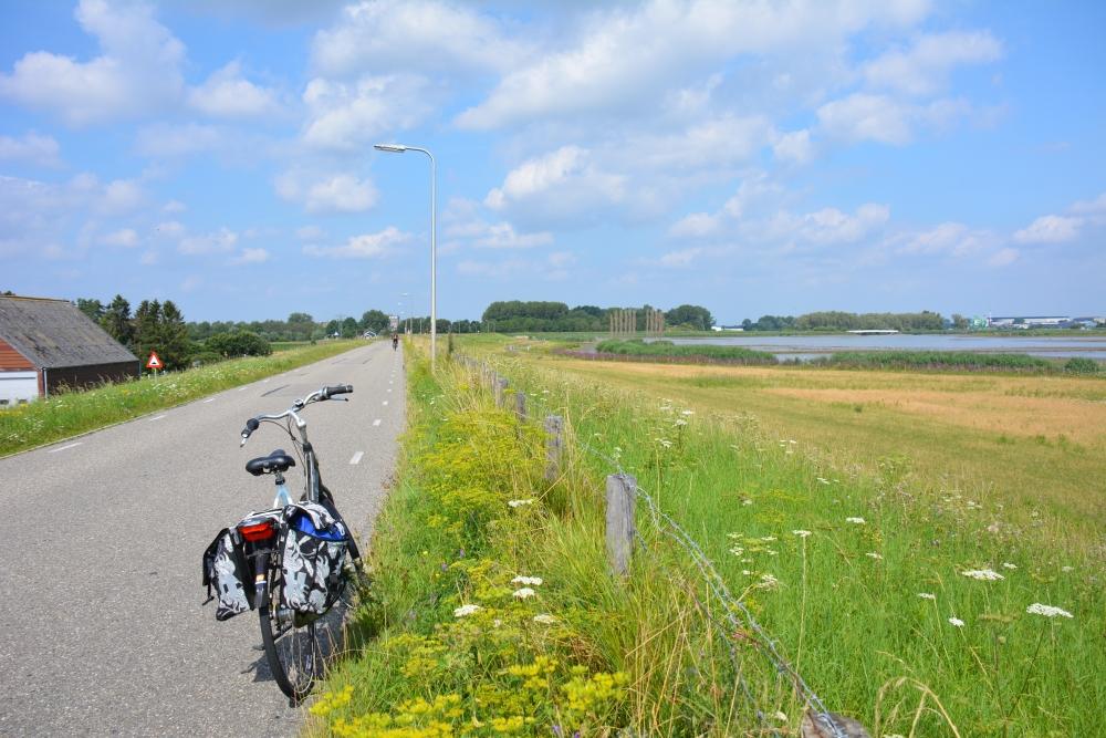Sophiapolder fietsroute IJsselmonde