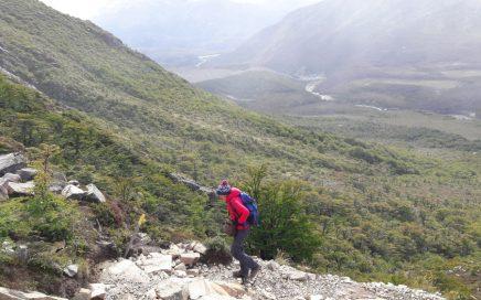 hike Laguna de Los Tres en Mount Fitzroy de zware klim en hartkloppingen