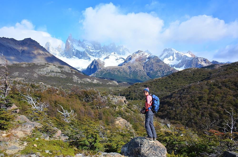 Hier nog geen hartkloppingen hike Laguna de Los Tres en Mount Fitzroy