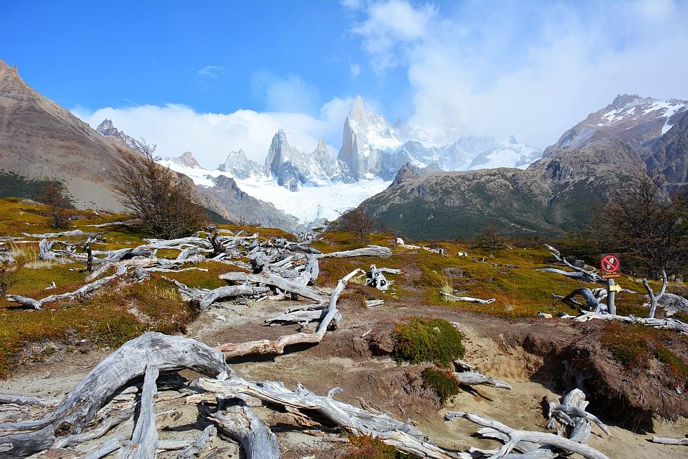 hike Laguna de Los Tres spectaculair landschap bij Mount Fitzroy