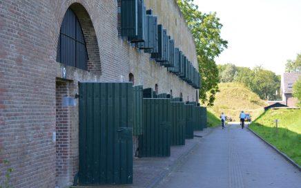 rondje om het fort Utrechtse Fietsvierdaagse 2019