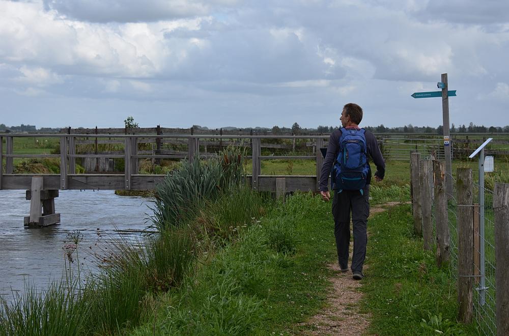 Klompenpad Lint- en Liniepad, Pad langs Waterbergings- en inundatiegebied Blokhoven