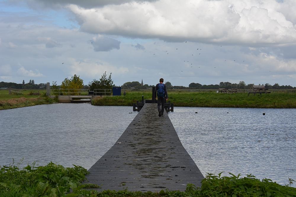 Klompenpad Lint- en Liniepad, Waterbergings- en inundatiegebied Blokhoven