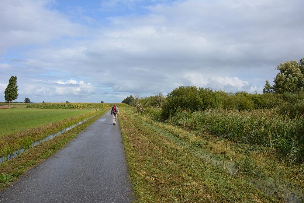 Klompenpad Lint- en Liniepad open landschap