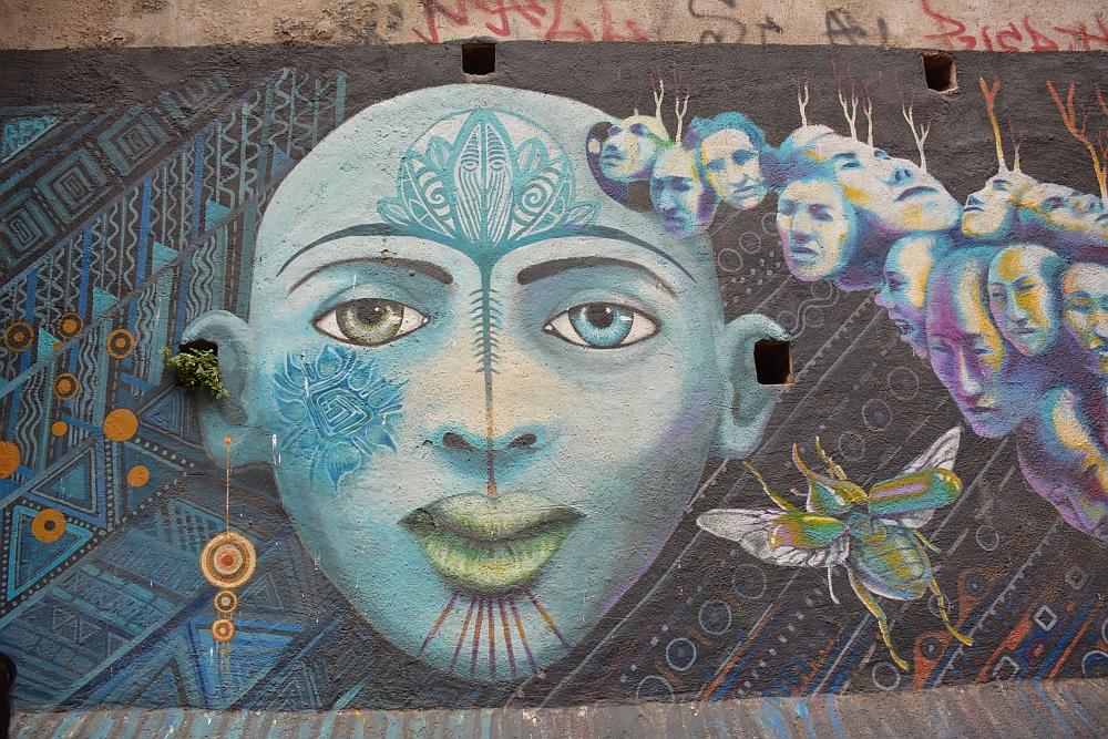 Mural at Valparaiso Chile