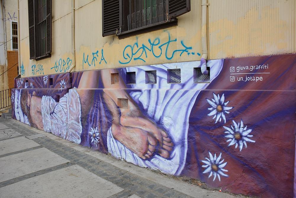 Valparaiso giova grafitty