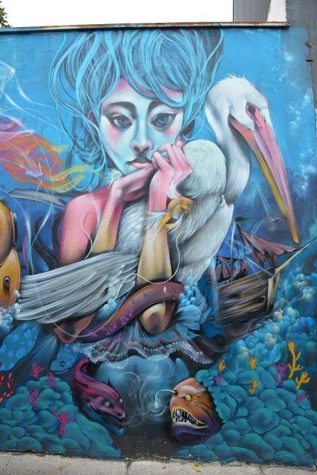 amazing Street art at Valparaiso Chile