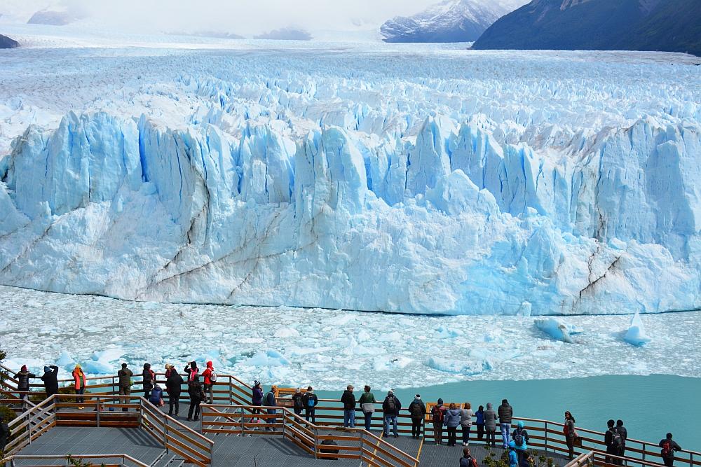 boardwalk Perito Moreno gletsjer Argentinië