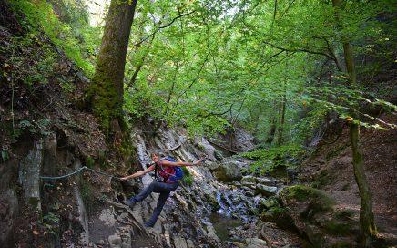 mooiste wandelingen in de Ardennen touwen langs de Ninglinspo wandelroute