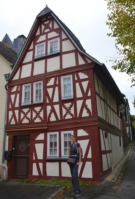 Vakwerkhuis in Traben-Trarbach Duitse Moezel