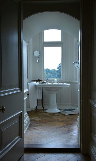 badkamer in Kasteel de Haar Haarzuilens