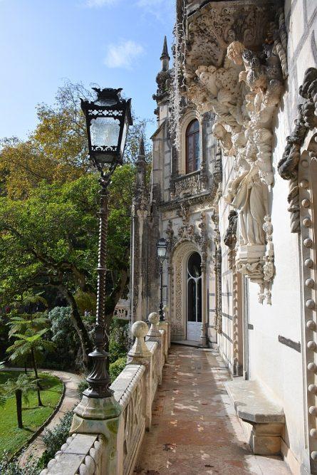details paleis van Quinta da Regaleira Sintra