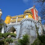 vooraanzicht kasteel van Pena