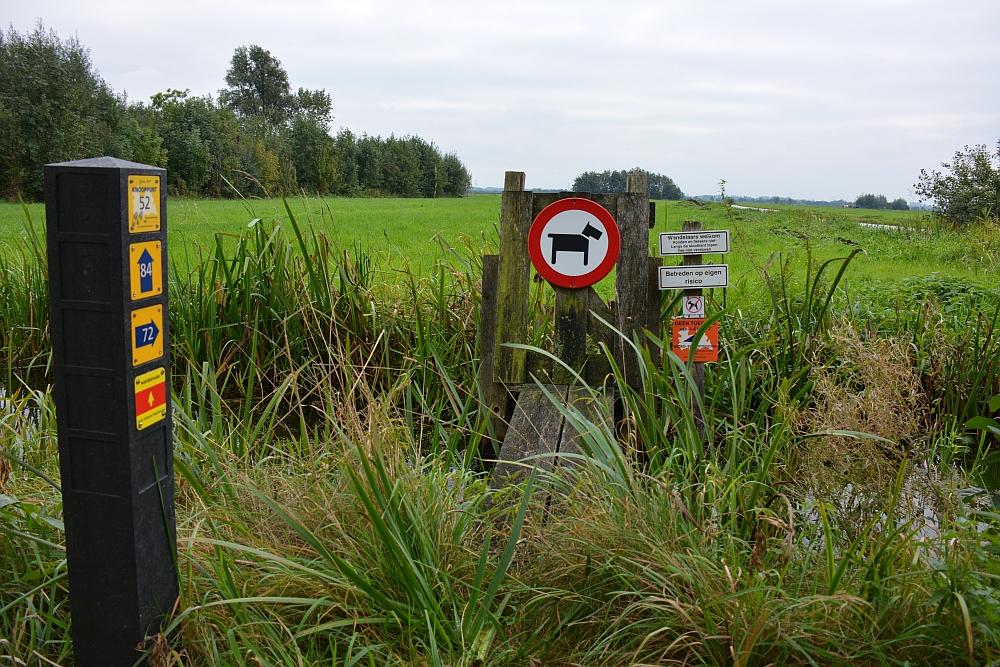 wandelknooppunten Cockangeroute wandelen in Utrecht