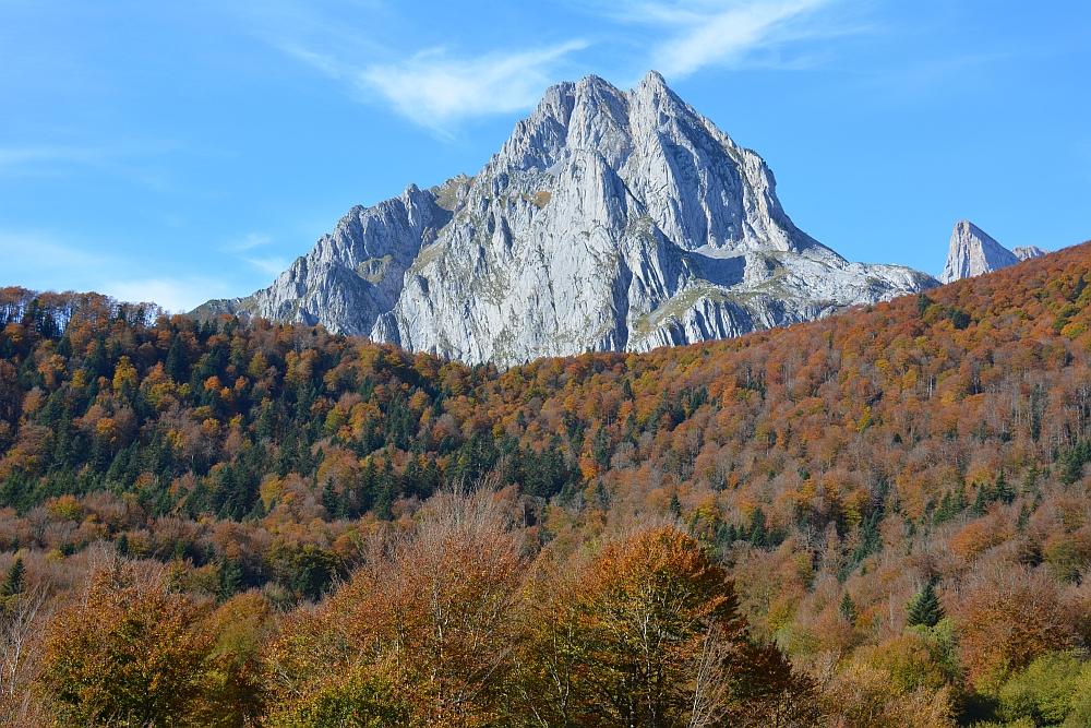 Cirque de Lescun Pyreneeën Frankrijk in de herfst